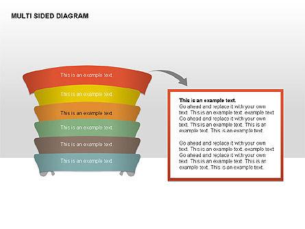 Multisided Diagram, Slide 11, 00374, Stage Diagrams — PoweredTemplate.com