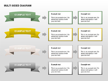 Multisided Diagram, Slide 14, 00374, Stage Diagrams — PoweredTemplate.com