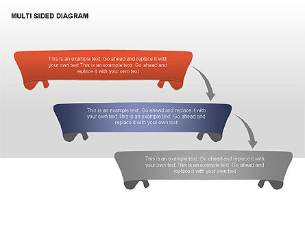 Multisided Diagram, Slide 2, 00374, Stage Diagrams — PoweredTemplate.com