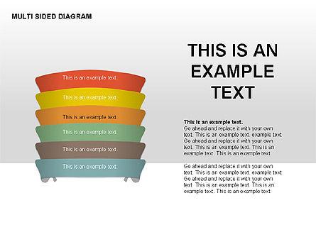 Multisided Diagram, Slide 5, 00374, Stage Diagrams — PoweredTemplate.com