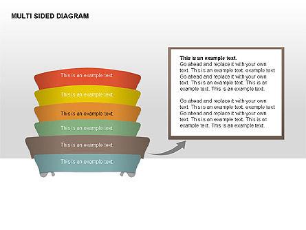 Multisided Diagram, Slide 7, 00374, Stage Diagrams — PoweredTemplate.com