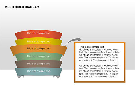 Multisided Diagram, Slide 9, 00374, Stage Diagrams — PoweredTemplate.com