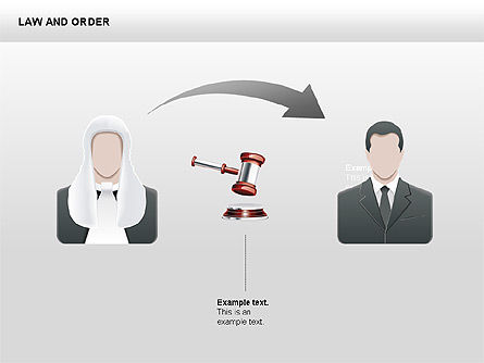Legal Icons Collection, Slide 6, 00379, Shapes — PoweredTemplate.com