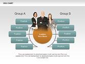 Organizational Charts: Organisatieschema's met foto's #00382