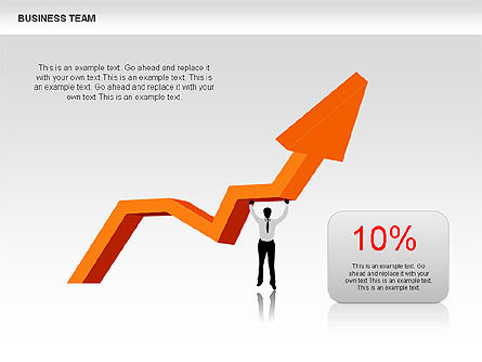 Shapes: Business-Team-Diagramme #00384