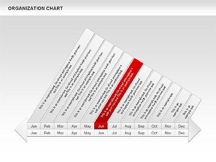 Crest Timeline Charts, Slide 10, 00391, Timelines & Calendars — PoweredTemplate.com