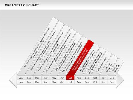 Crest Timeline Charts, Slide 11, 00391, Timelines & Calendars — PoweredTemplate.com