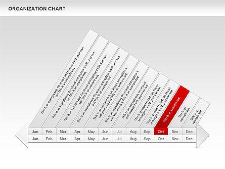 Crest Timeline Charts, Slide 14, 00391, Timelines & Calendars — PoweredTemplate.com