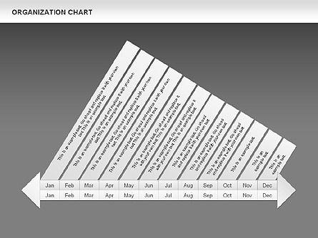 Crest Timeline Charts, Slide 17, 00391, Timelines & Calendars — PoweredTemplate.com
