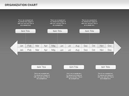 Crest Timeline Charts, Slide 18, 00391, Timelines & Calendars — PoweredTemplate.com
