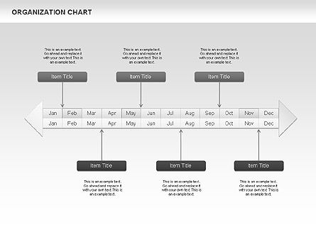 Crest Timeline Charts, Slide 2, 00391, Timelines & Calendars — PoweredTemplate.com