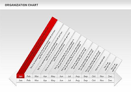 Crest Timeline Charts, Slide 5, 00391, Timelines & Calendars — PoweredTemplate.com