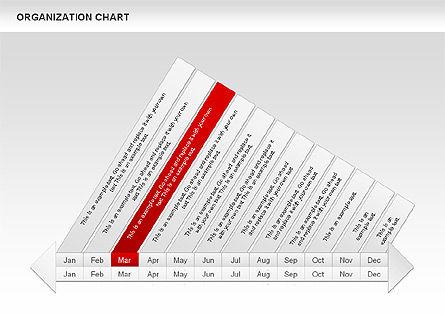 Crest Timeline Charts, Slide 7, 00391, Timelines & Calendars — PoweredTemplate.com