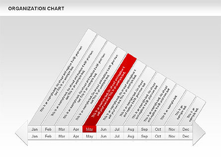 Crest Timeline Charts, Slide 9, 00391, Timelines & Calendars — PoweredTemplate.com