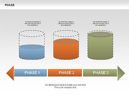 Tank Stages Diagrams, Slide 6, 00393, Stage Diagrams — PoweredTemplate.com