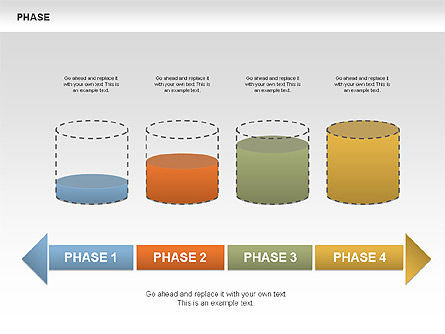 Tank Stages Diagrams, Slide 7, 00393, Stage Diagrams — PoweredTemplate.com