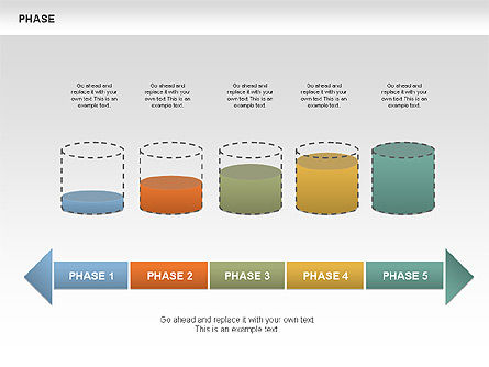 Tank Stages Diagrams, Slide 8, 00393, Stage Diagrams — PoweredTemplate.com