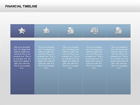 Free Financial Timeline, 00395, Timelines & Calendars — PoweredTemplate.com