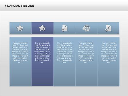 Free Financial Timeline, Slide 2, 00395, Timelines & Calendars — PoweredTemplate.com