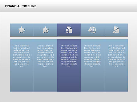 Free Financial Timeline, Slide 3, 00395, Timelines & Calendars — PoweredTemplate.com