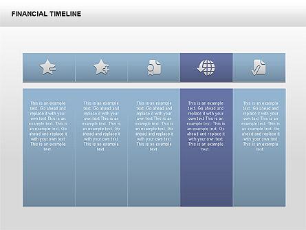 Free Financial Timeline, Slide 4, 00395, Timelines & Calendars — PoweredTemplate.com
