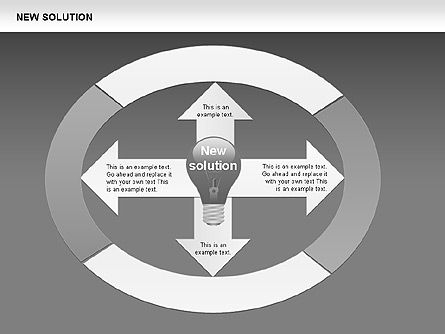 Finding Solution Diagrams, Slide 10, 00397, Shapes — PoweredTemplate.com