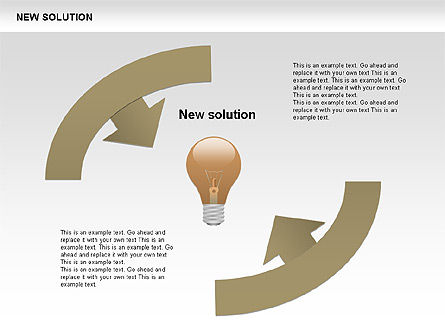 Finding Solution Diagrams, Slide 12, 00397, Shapes — PoweredTemplate.com