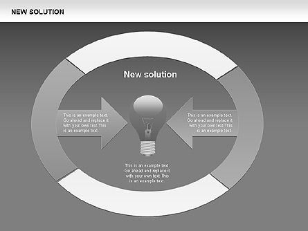 Finding Solution Diagrams, Slide 15, 00397, Shapes — PoweredTemplate.com