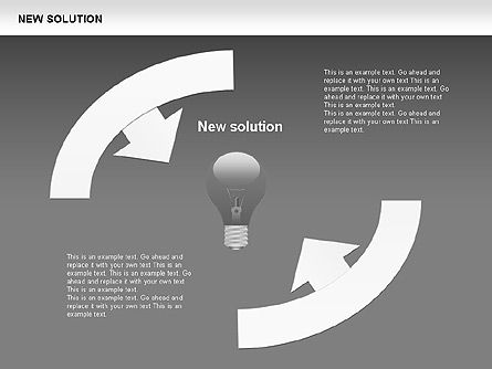 Finding Solution Diagrams, Slide 16, 00397, Shapes — PoweredTemplate.com