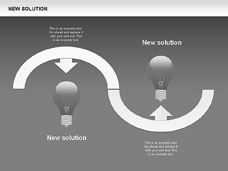 Finding Solution Diagrams, Slide 17, 00397, Shapes — PoweredTemplate.com