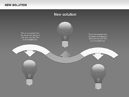 Finding Solution Diagrams, Slide 18, 00397, Shapes — PoweredTemplate.com