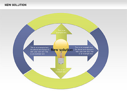 Finding Solution Diagrams, Slide 5, 00397, Shapes — PoweredTemplate.com