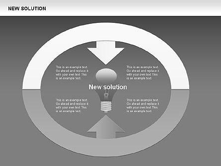 Finding Solution Diagrams, Slide 6, 00397, Shapes — PoweredTemplate.com