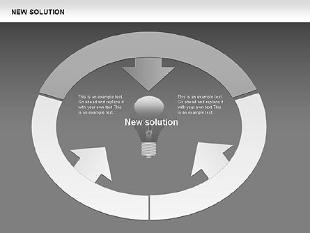 Finding Solution Diagrams, Slide 7, 00397, Shapes — PoweredTemplate.com