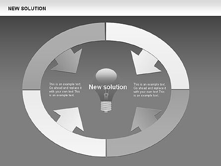 Finding Solution Diagrams, Slide 8, 00397, Shapes — PoweredTemplate.com