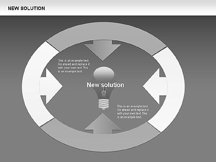 Finding Solution Diagrams, Slide 9, 00397, Shapes — PoweredTemplate.com