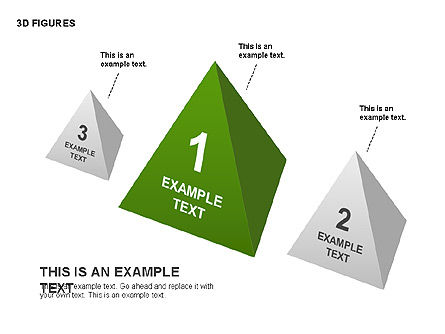 3D Objects, Slide 10, 00398, Shapes — PoweredTemplate.com
