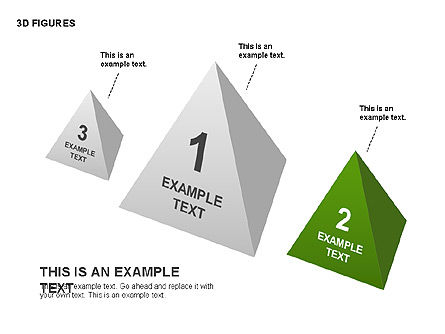 3D Objects, Slide 11, 00398, Shapes — PoweredTemplate.com