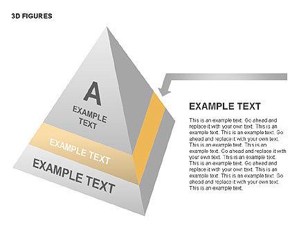 3D Objects, Slide 15, 00398, Shapes — PoweredTemplate.com