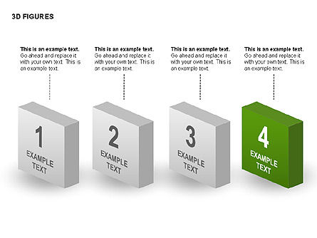 3D Objects, Slide 5, 00398, Shapes — PoweredTemplate.com