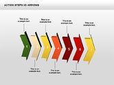 Action Steps 3D Arrows#10