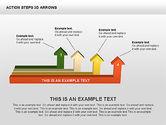 Action Steps 3D Arrows#11