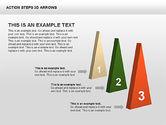 Action Steps 3D Arrows#13