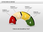 Action Steps 3D Arrows#5