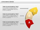 Action Steps 3D Arrows#7