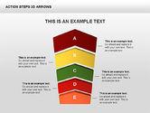 Action Steps 3D Arrows#8