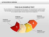 Action Steps 3D Arrows#9