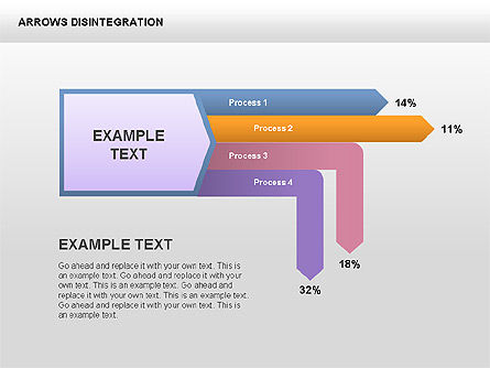 Sankey Diagram, Slide 11, 00401, Process Diagrams — PoweredTemplate.com