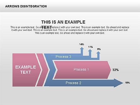 Sankey Diagram, Slide 13, 00401, Process Diagrams — PoweredTemplate.com