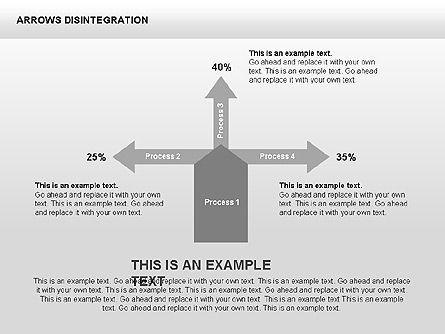 Sankey Diagram, Slide 3, 00401, Process Diagrams — PoweredTemplate.com